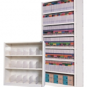 Open shelving available in a range of sizes