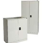 Steel storage cupboards. 1000mm & 1800mm high