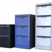 Classic Vertical Filing Cabinet. 3 sizes available